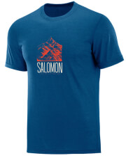 mployza salomon explore graphic tee mple m photo