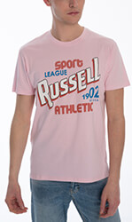 mployza russell athletic sport league s s crewneck tee roz xl photo