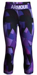 kolan 3 4 under armour heatgear armour printed capris mob l photo