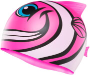 skoyfaki tyr charactyrs happy fish silicone kids swim cap roz photo