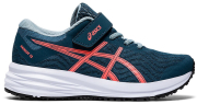 papoytsi asics patriot 12 ps petrol portokali photo