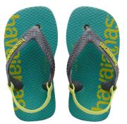 sandali havaianas baby logomania prasino photo