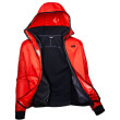 mpoyfan helly hansen scout profleece jacket portokali mayro photo