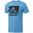 mployza reebok sport workout ready activchill graphic tee siel photo