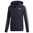 zaketa adidas sport inspired essentials 3 stripes fleece hoodie mple skoyro photo