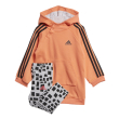 set adidas performance hooded dress set korali gkri 104 cm photo