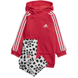 set adidas performance hooded dress set roz gkri 104 cm photo