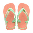 sandali havaianas baby brasil logo ii roz 25 26 photo