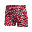 sorts magio speedo disney mickey mouse aquashort kokkino photo