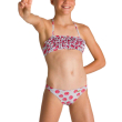 magio arena tropical summer bandeau rouche bikini gkri kokkino 140 cm photo