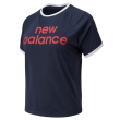 mployza new balance achiever graphic high low tee mple skoyro photo