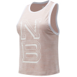 fanelaki new balance printed fast flight tank roz photo