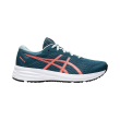 papoytsi asics patriot 12 gs petrol portokali usa 5 eu 375 photo