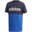 mployza adidas performance linear colorblock tee mple skoyro mple photo