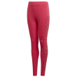 kolan adidas performance logo tights roz 152 cm photo