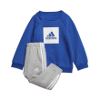 forma adidas performance 3 stripes fleece jogger set mple gkri 74 cm photo