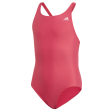 magio adidas performance solid fitness swimsuit roz photo