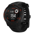 rolo gps garmin instinct esports black lava photo