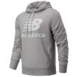 foyter new balance essentials stacked logo pullover hoodie gkri photo