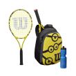 raketa wilson minions 25 tennis racket kit plegmeni kitrini mayri photo