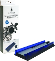 spartan gear console vertical stand black with hub blue light not compatible with slim photo