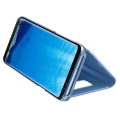 samsung flip case clear view ef zg955cl for galaxy s8 plus blue extra photo 2