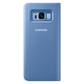 samsung flip case clear view ef zg955cl for galaxy s8 plus blue extra photo 3