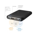 4smarts power bank volthub 6000mah black extra photo 1