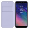 samsung flip wallet ef wa600cv for galaxy a6 2018 violet extra photo 2