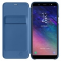 samsung flip wallet ef wa605cl for galaxy a6 plus 2018 blue extra photo 2
