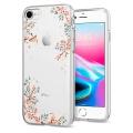 spigen liquid blossom nature back cover case for apple iphone 7 8 transparent extra photo 1