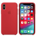 apple mrwc2zm a iphone xs silicone case product red extra photo 1