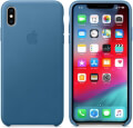 apple mtew2zm a iphone xs max leather case cape cod blue extra photo 1