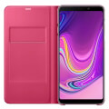 samsung flip wallet ef wa920pp for galaxy a9 2018 pink extra photo 1