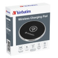 verbatim 49551 wireless charging pad metal qi 9v 2a 10w extra photo 2