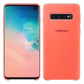 samsung galaxy s10 silicone cover ef pg973th berry pink extra photo 1
