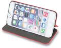 smart diva flip case for samsung j4 plus red extra photo 1