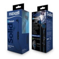 maxell bt100 bluetooth solid headset blue extra photo 1