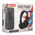 maxell spectrum sms 10s headphones with mic black extra photo 1