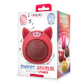 forever sweet animal pig rose abs 100 bluetooth speaker extra photo 1