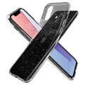 spigen liquid glitter crystal back cover case for apple iphone 11 61 transparent extra photo 1