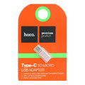 hoco adapter micro and type c rose gold extra photo 1