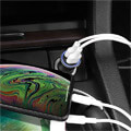 hoco car charger easy route dual port mini car charger 31a z30 black extra photo 3