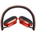 baseus encok d01 wireless headphones red extra photo 1
