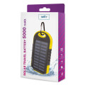 setty solar power bank 5000 mah yellow extra photo 1