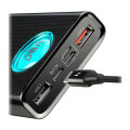 baseus ambilight digital display quick charge pd30 qc30 power bank 18w 20000mah black extra photo 5
