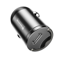 baseus tiny star pps car charger type c 30w fast charging grey extra photo 2