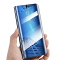 smart clear view flip case for huawei p40 blue extra photo 3