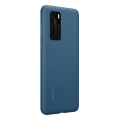 huawei 51993721 silicone back cover case p40 light blue extra photo 1