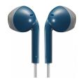 jvc ha f19m ah retro blue earbuds extra photo 1